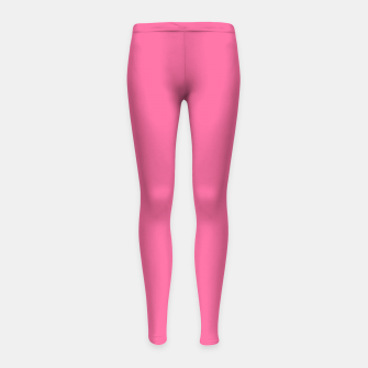 Miniatur color French pink Girl's leggings, Live Heroes