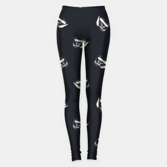 Thumbnail image of Angry Man Pencil Drawing Leggings, Live Heroes
