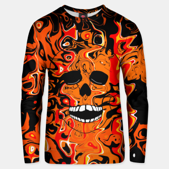 Thumbnail image of Halloween Inferno Unisex sweater, Live Heroes
