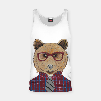 Thumbnail image of Mr Bear Tank Top, Live Heroes