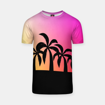 Thumbnail image of Sunset Tropical Island T-shirt, Live Heroes