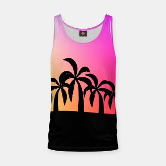 Thumbnail image of Sunset Tropical Island Tank Top, Live Heroes
