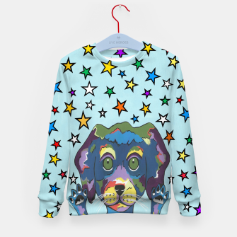 Thumbnail image of Pet Store Puppy Pick Me Kid's sweater, Live Heroes