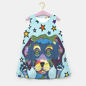 Thumbnail image of Pet Store Puppy Pick Me Girl's summer dress, Live Heroes