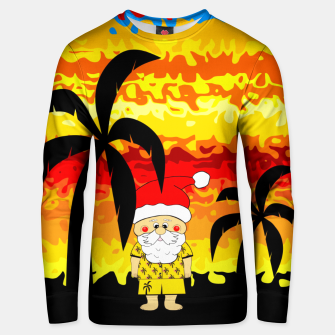 Thumbnail image of Santa Tropical Vacation Unisex sweater, Live Heroes