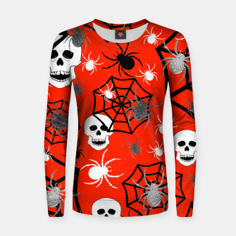 Miniature de image de Fright Night Skulls Women sweater, Live Heroes