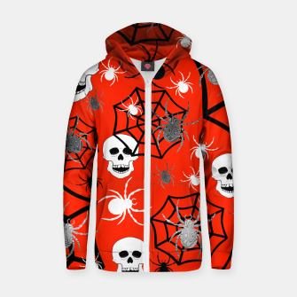 Miniature de image de Fright Night Skulls Zip up hoodie, Live Heroes