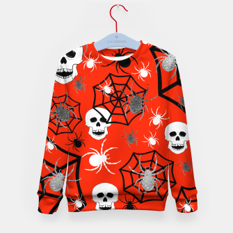 Miniature de image de Fright Night Skulls Kid's sweater, Live Heroes