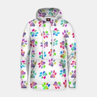 Thumbnail image of Puppy Paw Print Hoodie, Live Heroes