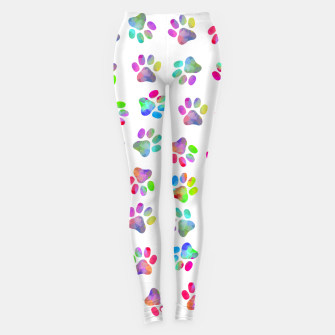 Thumbnail image of Puppy Paw Print Leggings, Live Heroes