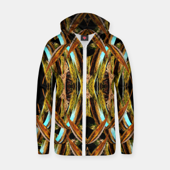 Abstraction in autumn colors Zip up hoodie thumbnail image