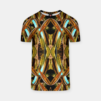 Abstraction in autumn colors T-shirt thumbnail image
