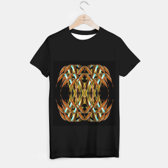 Abstraction in autumn colors T-shirt regular thumbnail image