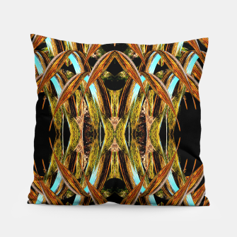 Thumbnail image of Abstraction in autumn colors Pillow, Live Heroes