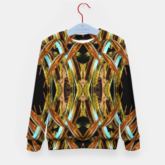 Thumbnail image of Abstraction in autumn colors Kid's sweater, Live Heroes