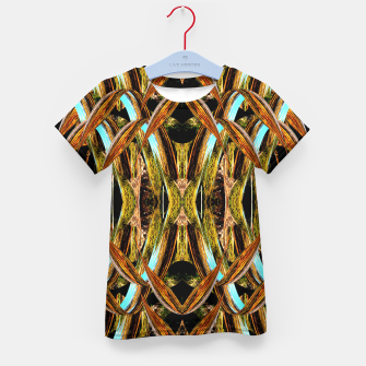 Thumbnail image of Abstraction in autumn colors Kid's t-shirt, Live Heroes