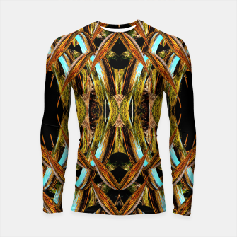 Thumbnail image of Abstraction in autumn colors Longsleeve rashguard , Live Heroes
