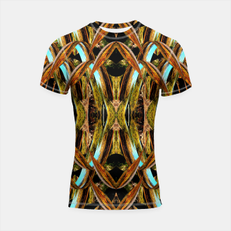 Thumbnail image of Abstraction in autumn colors Shortsleeve rashguard, Live Heroes