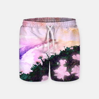 Thumbnail image of One waterfall Swim Shorts, Live Heroes