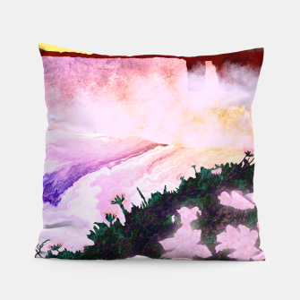 Thumbnail image of One waterfall Pillow, Live Heroes