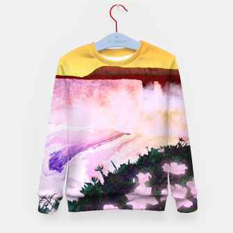 Thumbnail image of One waterfall Kid's sweater, Live Heroes