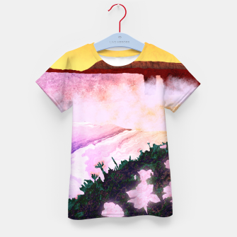 Thumbnail image of One waterfall Kid's t-shirt, Live Heroes