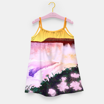 Thumbnail image of One waterfall Girl's dress, Live Heroes