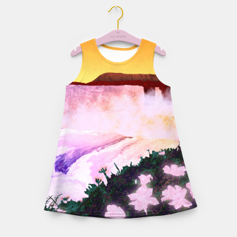 Thumbnail image of One waterfall Girl's summer dress, Live Heroes