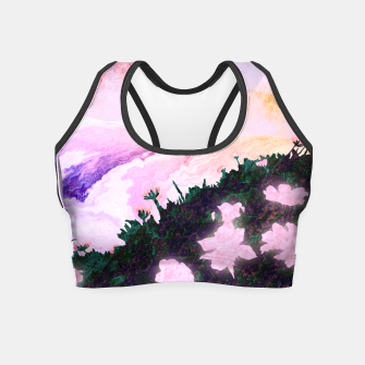 Thumbnail image of One waterfall Crop Top, Live Heroes