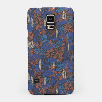 Thumbnail image of Cobalt tropical lush soft Samsung Case, Live Heroes