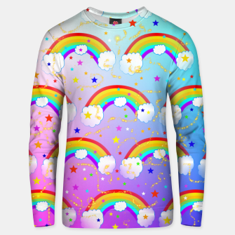 Thumbnail image of Rainbow Dreams Unisex sweater, Live Heroes