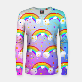 Thumbnail image of Rainbow Dreams Women sweater, Live Heroes