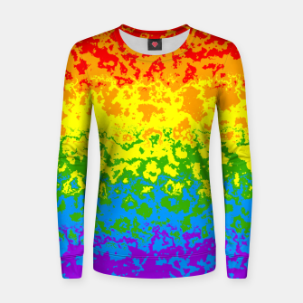 Miniatur Pride Abstract Women sweater, Live Heroes