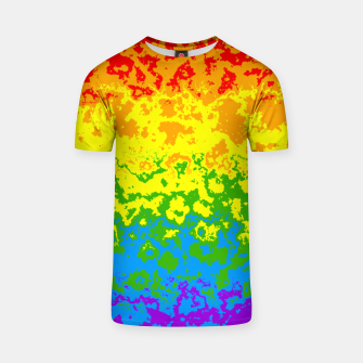 Miniatur Pride Abstract T-shirt, Live Heroes