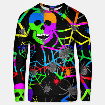 Thumbnail image of Skull Color Blast Unisex sweater, Live Heroes