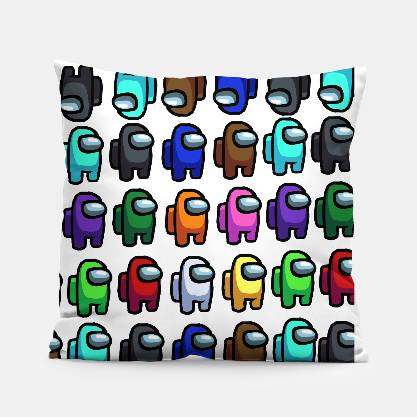 Image of among us Pillow - Live Heroes
