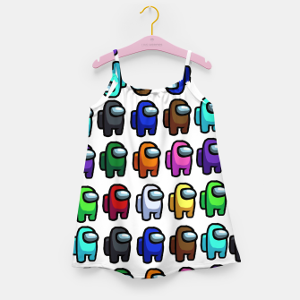 Thumbnail image of among us Girl's dress, Live Heroes