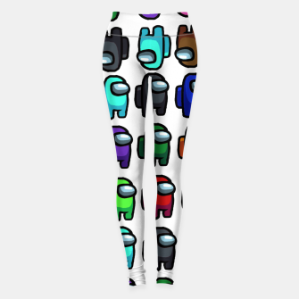 Thumbnail image of among us Leggings, Live Heroes