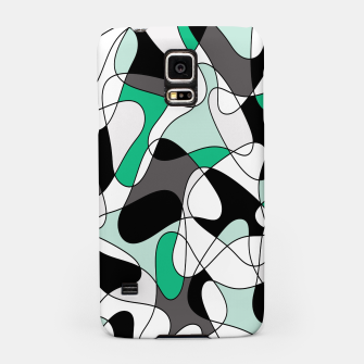 Thumbnail image of Abstract pattern - green and gray. Samsung Case, Live Heroes