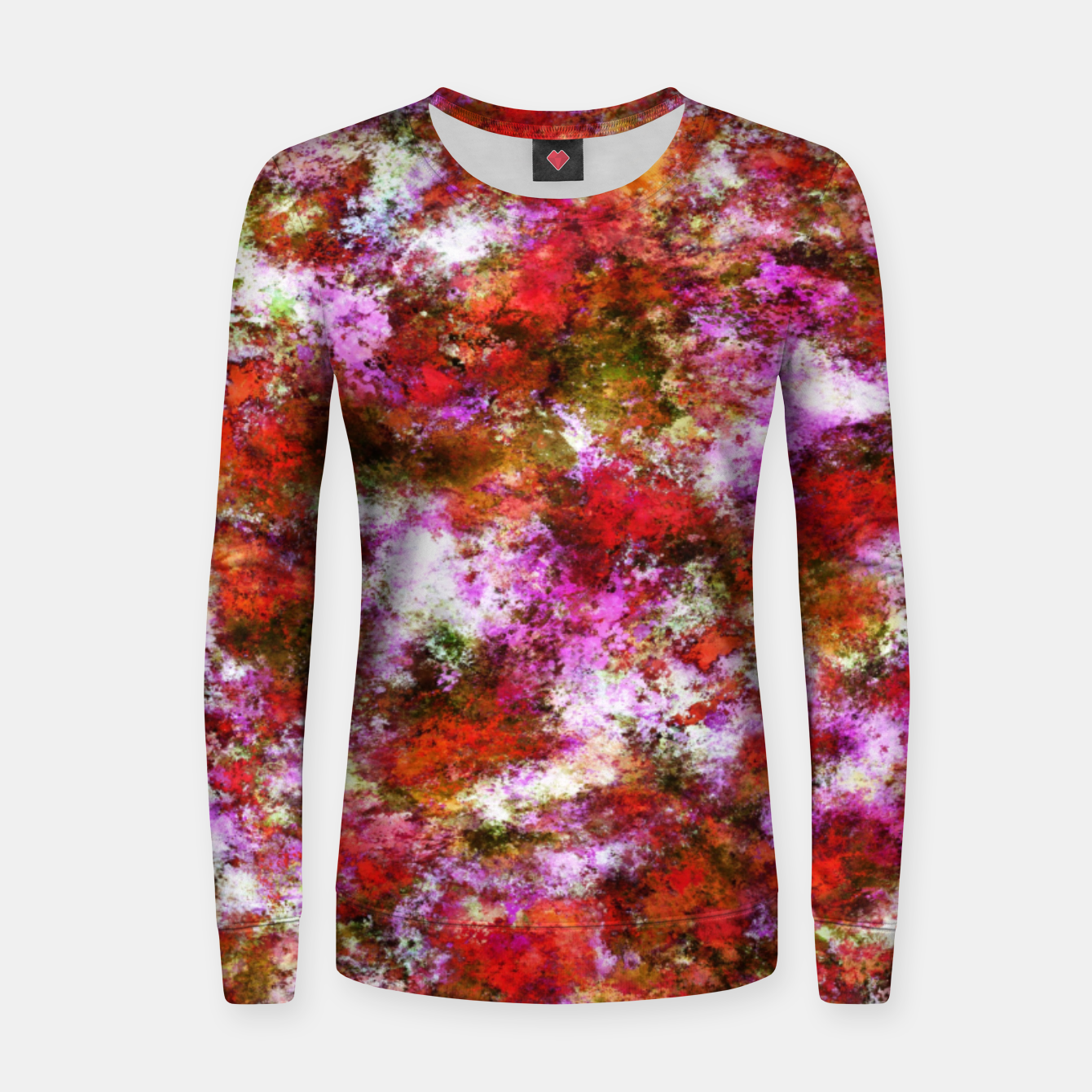 Image of Roses Women sweater - Live Heroes