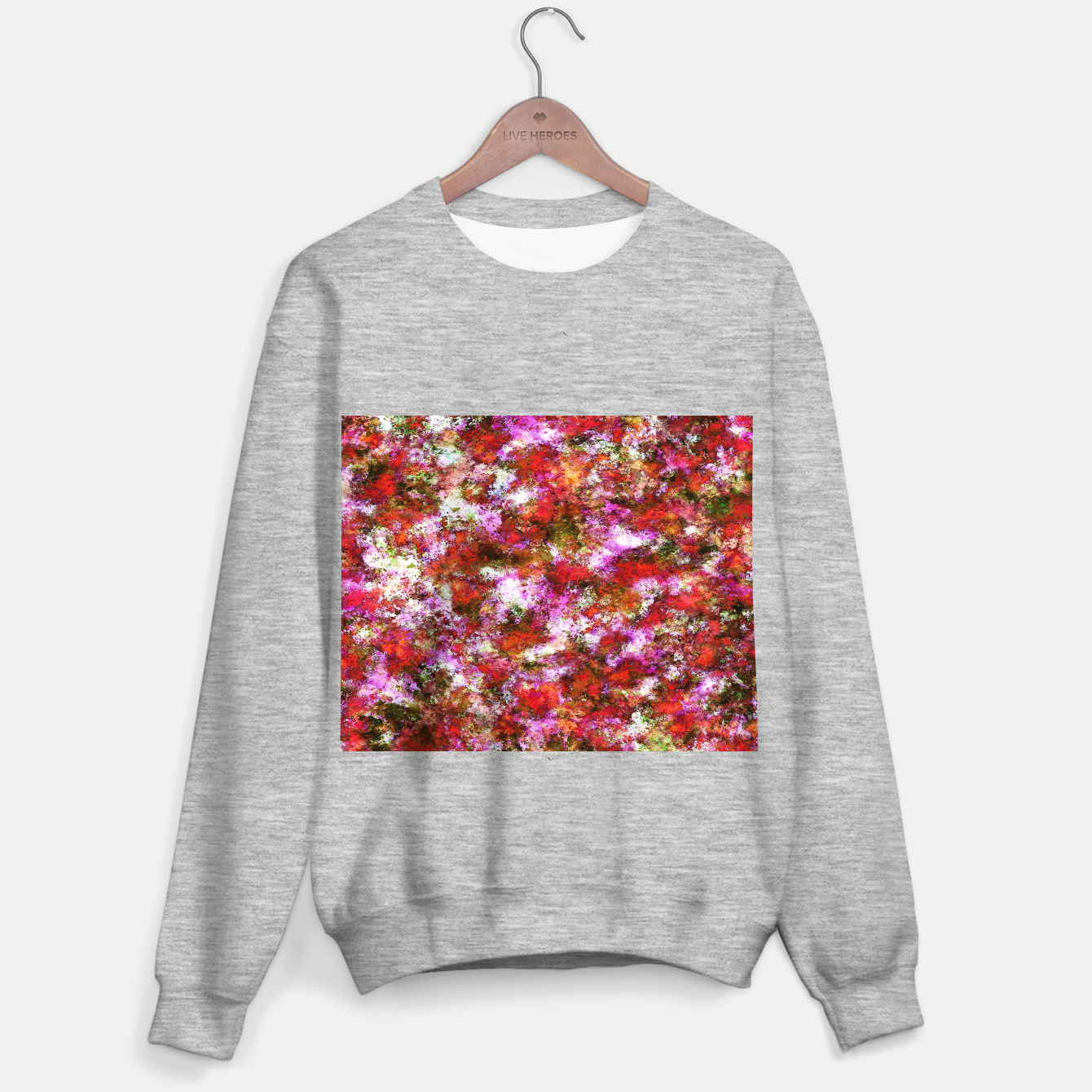 Image of Roses Sweater regular - Live Heroes