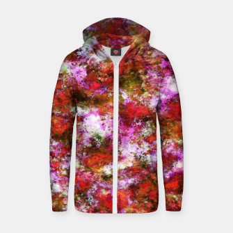 Thumbnail image of Roses Zip up hoodie, Live Heroes