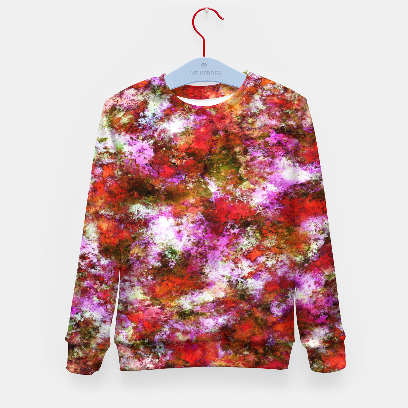 Image of Roses Kid's sweater - Live Heroes