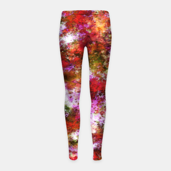 Thumbnail image of Roses Girl's leggings, Live Heroes
