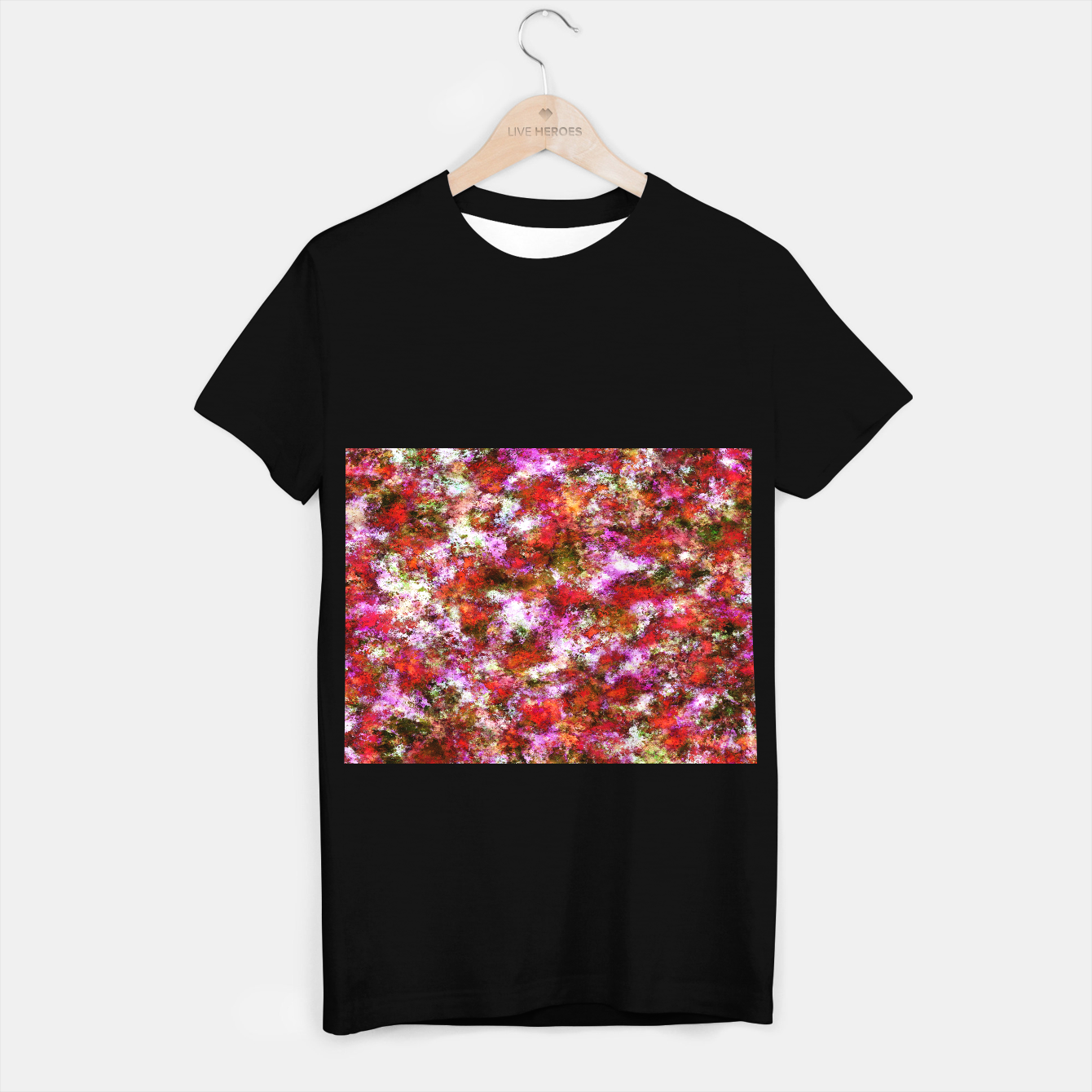Image of Roses T-shirt regular - Live Heroes