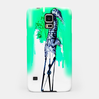 Thumbnail image of crocodile blues Yulia A Korneva home made Samsung Case, Live Heroes