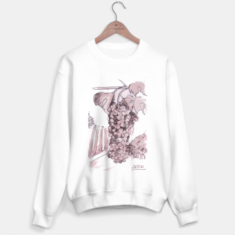 Thumbnail image of Bonarda grapes wine watercolor Yulia A Korneva Sweater regular, Live Heroes