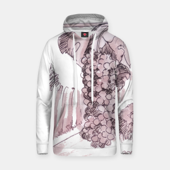 Thumbnail image of Bonarda grapes wine watercolor Yulia A Korneva Hoodie, Live Heroes