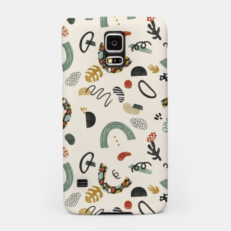Thumbnail image of Modern abstract pattern 56 Carcasa por Samsung, Live Heroes