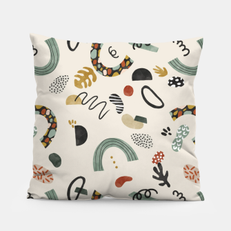 Miniatur Modern abstract pattern 56 Almohada, Live Heroes